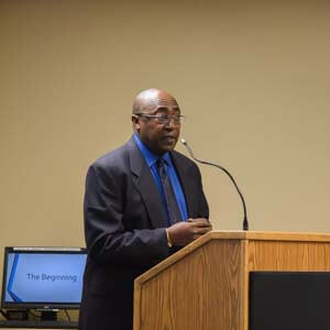 In honor of Martin Luther King Jr. Day, Dr. Dennard Ellison, an otolaryngologist, spoke about his life at the San Luis Valley Health Education and Conference Center