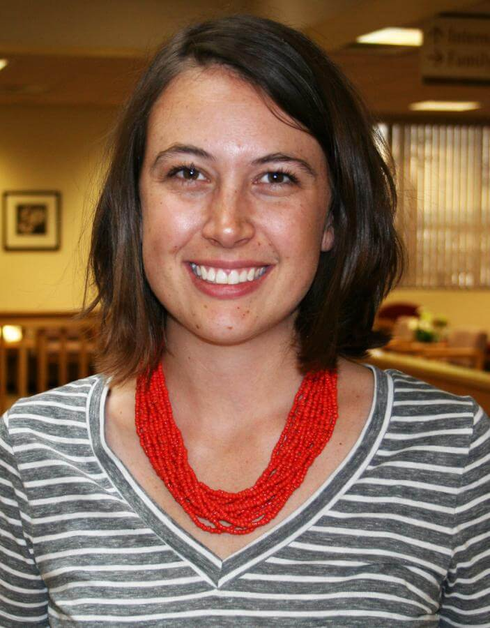 Katie Kaser recently received her Licensed Clinical Social Worker credential.