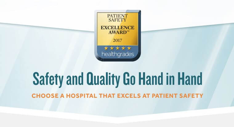 Patient Safety Excellence Award 2017 logo