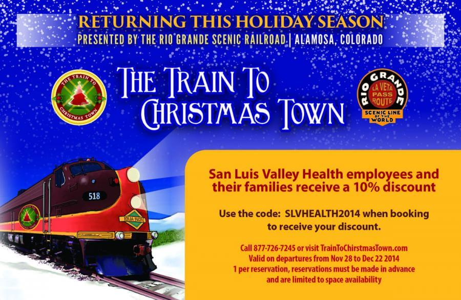 The Train to Christmas info flyer