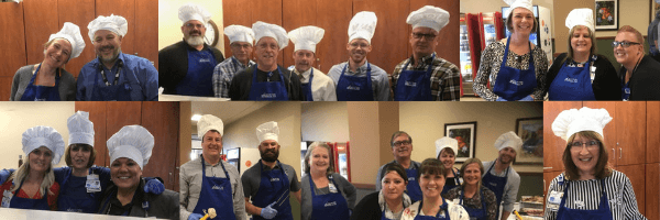 """Thanksgiving Dinner"" at the Regional Medical Center and the Conejos County Hospital"